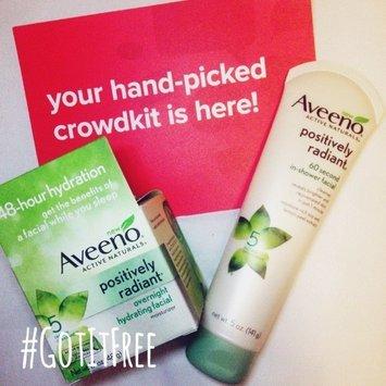 Aveeno Positively Radiant Overnight Hydrating Facial Moisturizer uploaded by Krystal J.