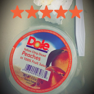 Photo of Dole Yellow Cling Diced Peaches In 100% Fruit Juice uploaded by Hanna A.