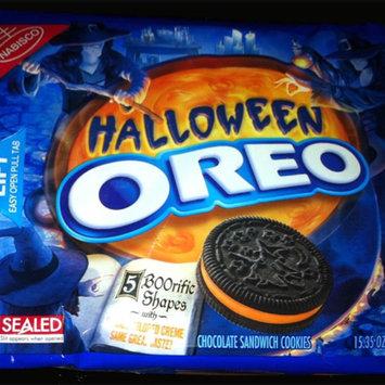 Oreo Halloween Orange Creme Cookies uploaded by Ty'Reginesha M.