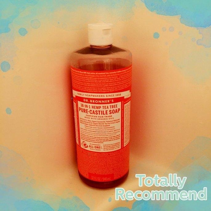 Dr. Bronner Organic Tea Tree Castile Liquid Soap uploaded by Amber T.