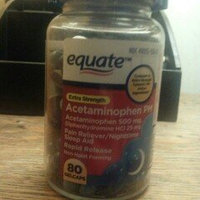 Equate - Pain Reliever PM Nighttime Sleep Aid, Extra Strength, Acetaminophen 80 Gelcaps uploaded by Maranda C.