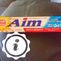 Photo of Aim™ Multi-Benefit Cavity Protection Ultra Mint Gel Toothpaste 5.5 oz. Box uploaded by Chrissy D.