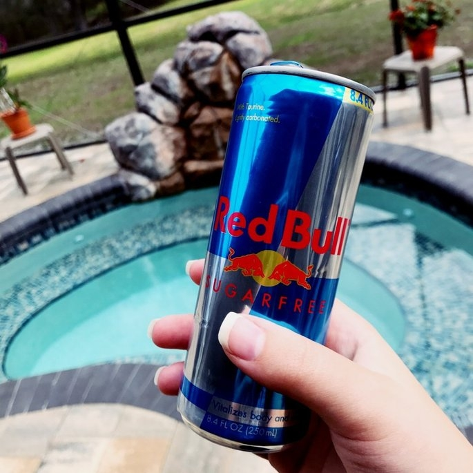 Red Bull Sugarfree Energy Drink uploaded by Courtney A.