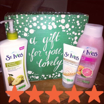 Photo of St. Ives Reviving Pear Nectar & Soy Body Lotion uploaded by haley t.