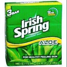 Photo of Aloe Deodorant Soap By Irish Spring for Unisex uploaded by Alisha G.