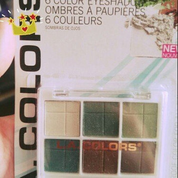 L.A. Colors 6 Color Eyeshadow, Delicate, .14 oz uploaded by beverly s.