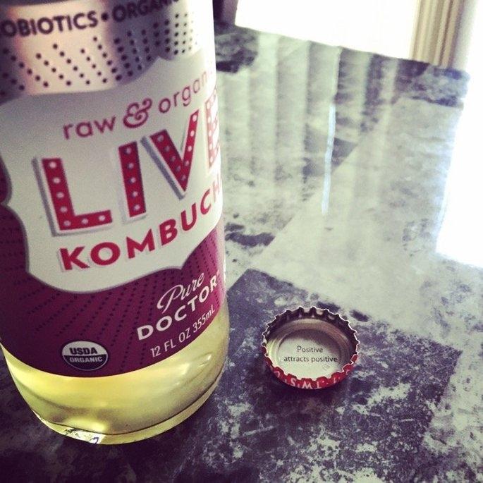 LIVE Kombucha Soda Pure Doctor uploaded by Shelby K.