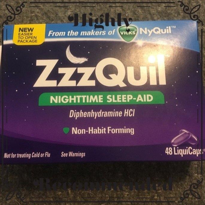 ZzzQuil Nighttime Sleep-Aid Liquid, Warming Berry uploaded by Tammy U.
