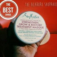 SheaMoisture Strengthen, Grow & Restore Treatment Masque, Jamaican Black Castor Oil, 12 oz uploaded by Vivian A.