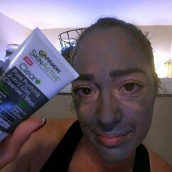 Garnier® SkinActive™ Clean+ Pore Purifying 2-in-1 Clay Cleanser/Mask for Oily Skin 5 fl. oz. Tube uploaded by Stephanie O.
