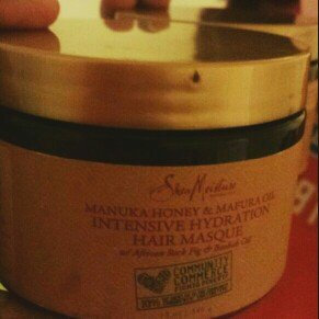 SheaMoisture Manuka Honey & Mafura Oil Intensive Hydration Hair Masque uploaded by Milencia S.