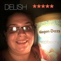 Haagen-Dazs Raspberry Sorbet uploaded by heather h.
