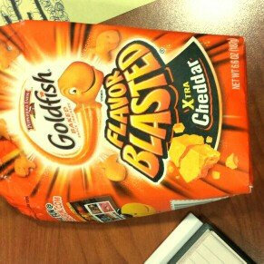 Photo of Goldfish® Flavor Blasted Xtra Cheddar Baked Snack Crackers uploaded by Chrissy P.