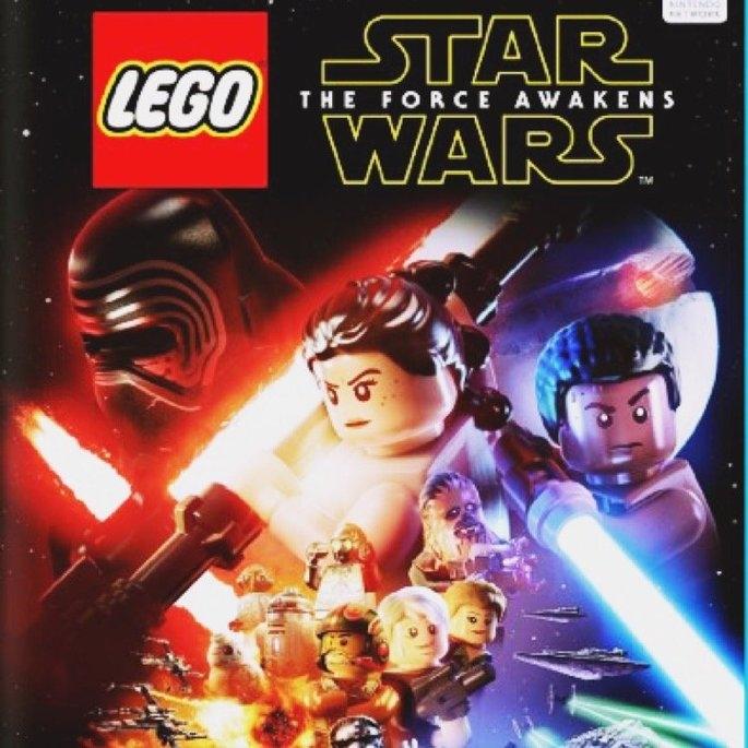 Warner Brothers Lego Star Wars: The Force Awakens - Nintendo Wii U uploaded by C G.