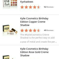 Kylie Cosmetics Birthday Edition Copper Creme Shadow uploaded by Destiny M.