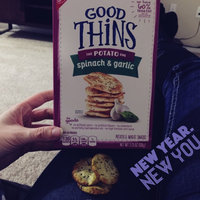 Good Thins Spinach & Garlic Potato Snacks uploaded by Amy K.