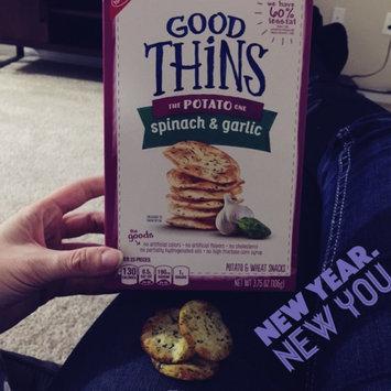 Photo of Good Thins Spinach & Garlic Potato Snacks uploaded by Amy K.