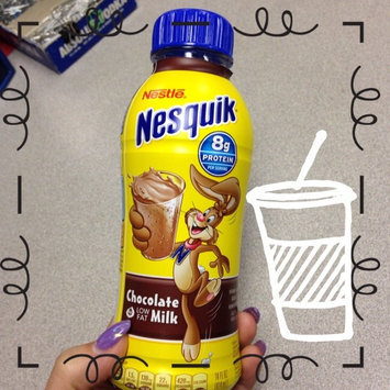 Photo of Nesquik® Chocolate Ready-to-Drink Fat Free Milk uploaded by Ciera C.