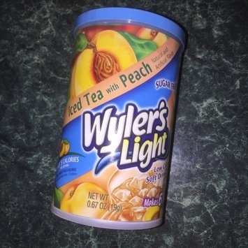 Wyler's Light Sugar Free Low Calorie Soft Drink Iced Tea with Peach uploaded by Jonathan H.