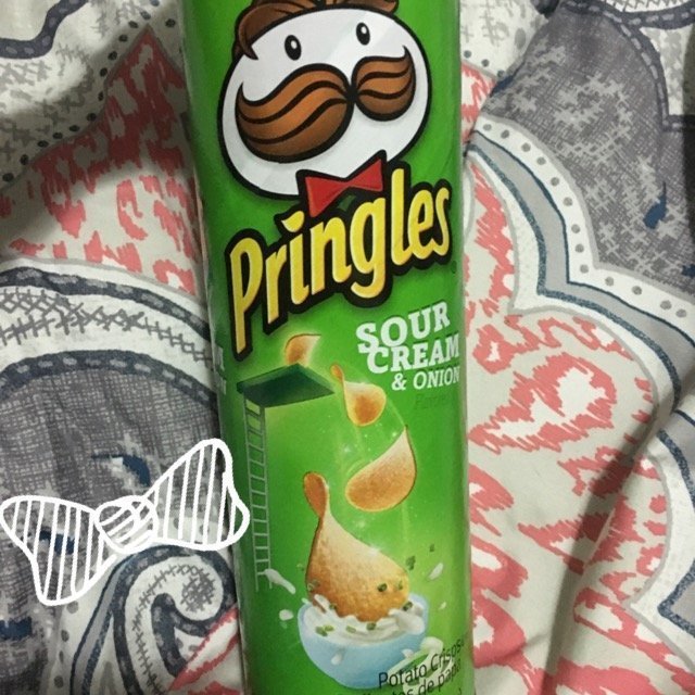 Pringles Potato Crisps Sour Cream & Onion uploaded by Carli C.