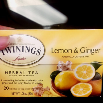Twinings Lemon & Ginger Tea, 20 ea uploaded by Wonda A.
