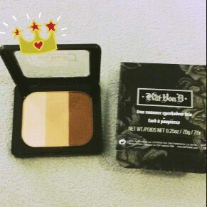Kat Von D True Romance Eyeshadow Trio uploaded by Maria D.