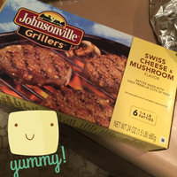 Johnsonville Grillers Mushroom & Swiss Brat Patties  24oz 6ct box (102033) uploaded by Wendy C.