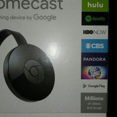 Chromecast uploaded by Stephanie J.