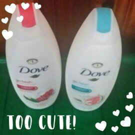 Photo of Dove Visible Care Toning Creme Body Wash uploaded by Erika A.