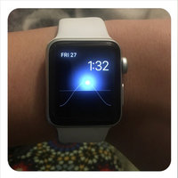 Apple Watch Series 2 38mm Silver Aluminum Case with White Sport Band, Blue uploaded by Cristina M.