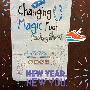 Tony Moly Foot Peeling Shoes uploaded by K W.