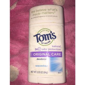Tom's of Maine Original Care Natural Aluminum Free Deodorant Stick uploaded by Carolina P.