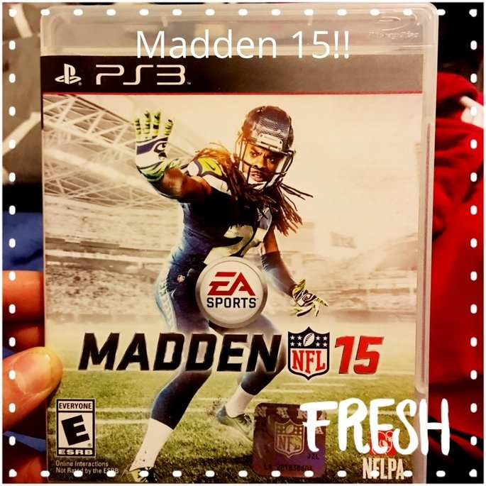 Electronic Arts Madden NFL 15 (PlayStation 3) uploaded by Angel U.