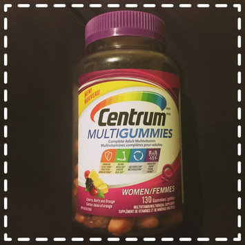 Centrum MultiGummies Women, Cherry, Berry, Orange uploaded by Arra G.