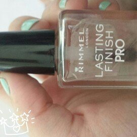 Rimmel London Lasting Finish Nail Enamel Base & Top Coat
