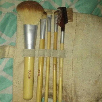 Photo of Danielle Naturally 5 Piece Bamboo Makeup Brush Set with Case uploaded by narda a.