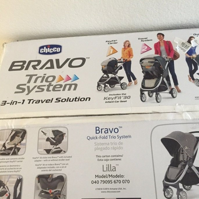 Chicco Bravo Trio Travel System - Lilla - 1 ct. uploaded by Melissa F.