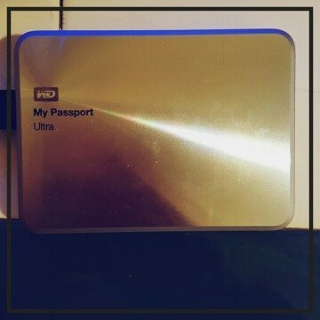 Western Digital WD My Passport Ultra Metal Edition External Hard Drive uploaded by Kimberly C.