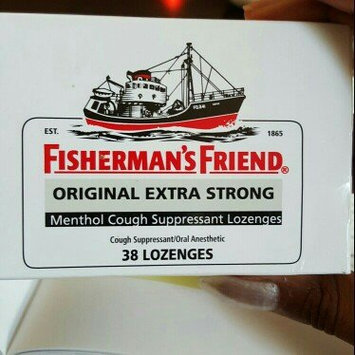Photo of Fisherman's Friend Extra Strong Menthol Cough Suppressant Lozenges, Original uploaded by Dade C.