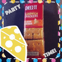 Cheez-It® Sandwich Crackers Classic Cheddar uploaded by Maria R.