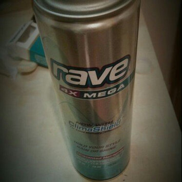 Photo of Rave 4X Mega Unscented Hairspray With ClimaShield uploaded by Caitline L.