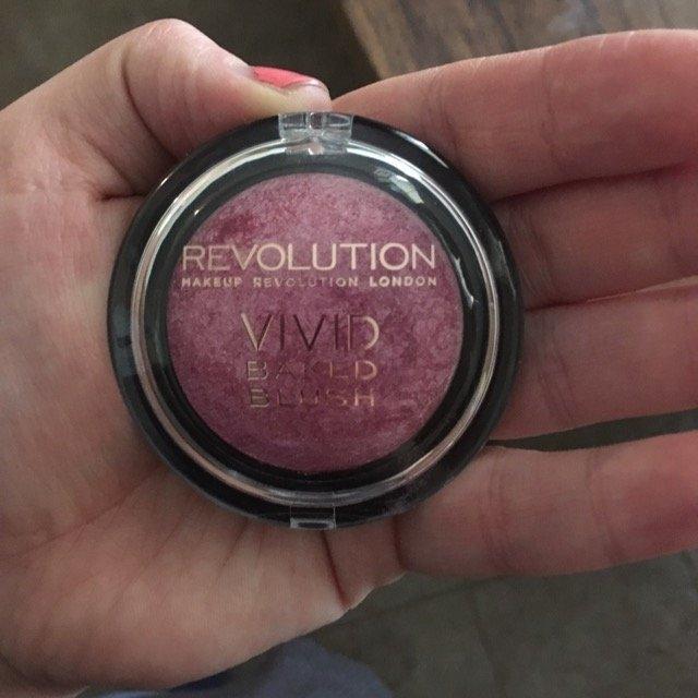 Makeup Revolution Baked Blusher uploaded by Maggie F.