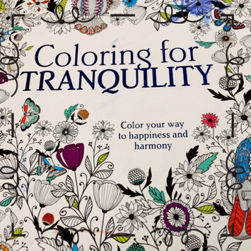 Photo of Parragon Coloring For Tranquility Adult Coloring Book uploaded by Allison J.