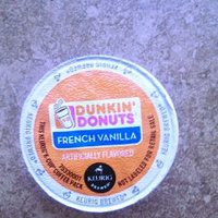 Dunkin' Donuts French Vanilla Coffee K-Cups uploaded by Melissa W.