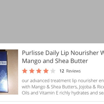 Purlisse Daily Lip Nourisher With Mango and Shea Butter uploaded by Connie S.