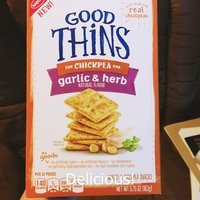 Good Thins Garlic & Herb Chickpea Snacks uploaded by Amber P.