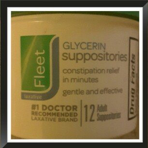 FLEET GLYCERIN SUPPOSITORIES ADULT 12'S uploaded by Crystal O.