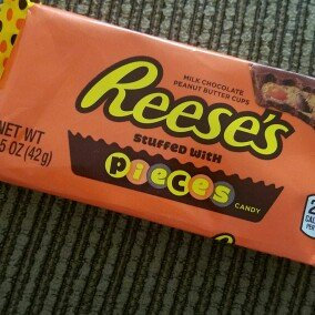 Photo of Reese's Pieces Peanut Butter Cup uploaded by Emily M.