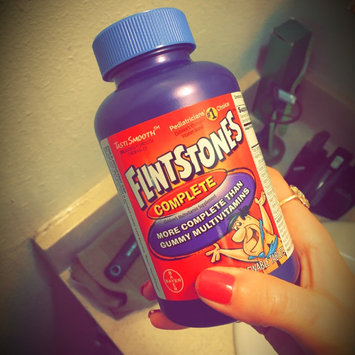 Photo of Flintstones Vitamins® Flintstones Complete Childrens Multivitamin - 200 Chewable Tablets uploaded by Felecia F.
