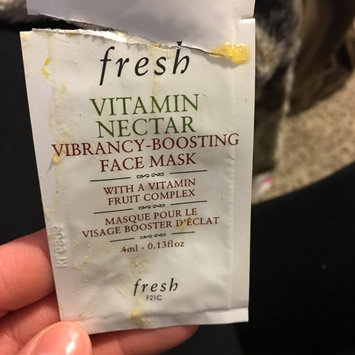 Fresh Vitamin Nectar Vibrancy-Boosting Face Mask 3.3 oz uploaded by Alyssa L.